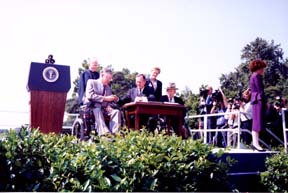 ADA Signing at the White House