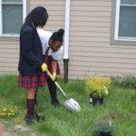 Belmont Charter School visits LRI!