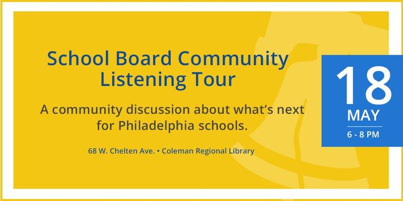 School Board Listening Tour