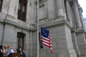 Disability Pride Flag Raising 2018